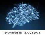 Digital X Ray Human Brain On...