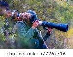 professional wildlife... | Shutterstock . vector #577265716