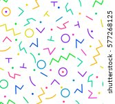 vector seamless creative... | Shutterstock .eps vector #577268125