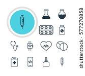 vector illustration of 12... | Shutterstock .eps vector #577270858
