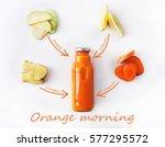 detox cleanse drink concept ... | Shutterstock . vector #577295572