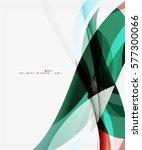 modern creative curve... | Shutterstock .eps vector #577300066