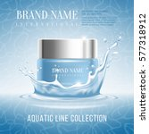 excellent cosmetics advertising ... | Shutterstock .eps vector #577318912