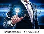 technical support customer... | Shutterstock . vector #577328515