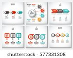 abstract infographics number... | Shutterstock .eps vector #577331308
