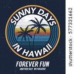 hawaii vector illustration for... | Shutterstock .eps vector #577331662