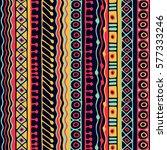 seamless vector tribal texture. ...   Shutterstock .eps vector #577333246