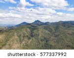 green mountain landscape in... | Shutterstock . vector #577337992