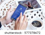 bangkok  thailand   february 12 ... | Shutterstock . vector #577378672