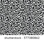 leopard pattern  vector ... | Shutterstock .eps vector #577380862