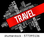 travel word cloud collage ...