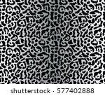 leopard pattern  vector ... | Shutterstock .eps vector #577402888