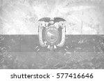 vintage ecuador flag pattern | Shutterstock . vector #577416646