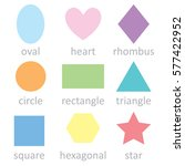 vector flat design  set of... | Shutterstock .eps vector #577422952