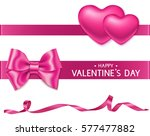 set of valentine's day... | Shutterstock .eps vector #577477882