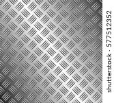 four rows of checkered plates ... | Shutterstock .eps vector #577512352