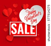 valentines day background...   Shutterstock .eps vector #577514275