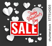 valentines day background... | Shutterstock .eps vector #577514305