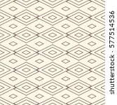 outline seamless pattern with... | Shutterstock .eps vector #577514536