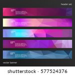 set design elements business... | Shutterstock .eps vector #577524376