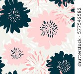seamless repeating pattern with ... | Shutterstock .eps vector #577543582
