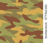 camouflage pattern background... | Shutterstock .eps vector #577562182