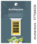 elements of architecture  ... | Shutterstock .eps vector #577568236