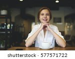 portrait of young professional...   Shutterstock . vector #577571722