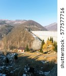 Small photo of Paltinu Accumulation Lake, Doftana River, Prahova County, Romania