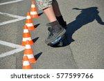 skater   Shutterstock . vector #577599766