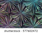 abstract colorful iridescent... | Shutterstock . vector #577602472