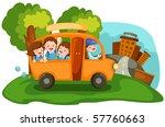 illustration of  cartoon... | Shutterstock . vector #57760663