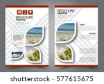 flyer design. business brochure ...   Shutterstock .eps vector #577615675