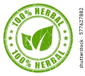 herbal eco natural product... | Shutterstock .eps vector #577627882