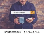 Content Is King Concept