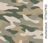 camouflage pattern background... | Shutterstock .eps vector #577637932