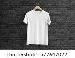 t shirt mockup | Shutterstock . vector #577647022