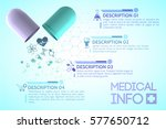 pharmacy information poster... | Shutterstock .eps vector #577650712