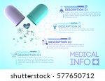 pharmacy information poster... | Shutterstock .eps vector #577650712