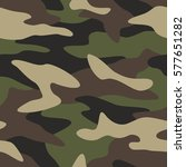 camouflage pattern background... | Shutterstock .eps vector #577651282