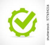 Abstract Technical Vector Icon...