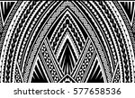 samoa style ornament. good for... | Shutterstock .eps vector #577658536
