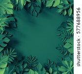 3d render  digital illustration ... | Shutterstock . vector #577688956
