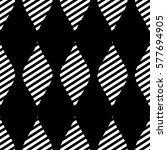 seamless vector abstract... | Shutterstock .eps vector #577694905
