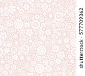 seamless floral pattern. vector ... | Shutterstock .eps vector #577709362