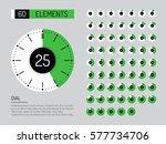 set vector image of... | Shutterstock .eps vector #577734706