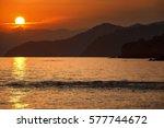 Sunset On The Mediterranean Sea.
