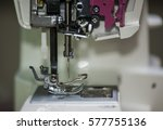 needle on the sewing machine | Shutterstock . vector #577755136