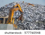 recycling industry. business... | Shutterstock . vector #577760548