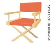 film director chair icon.... | Shutterstock .eps vector #577814152
